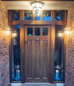 Oak Door Lights (5)